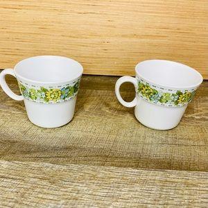 Set of 2 Vintage Noritake Springfield coffee cups